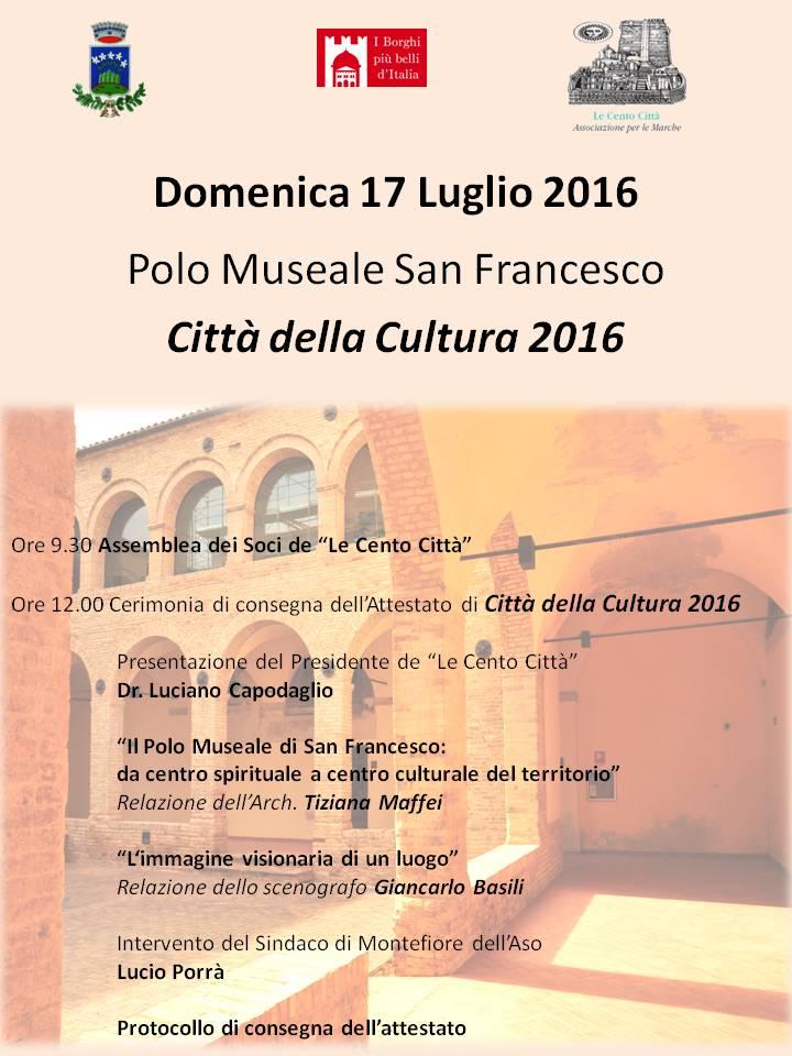 Città Cultura 2016